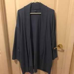 Gap open front cardigan with pockets